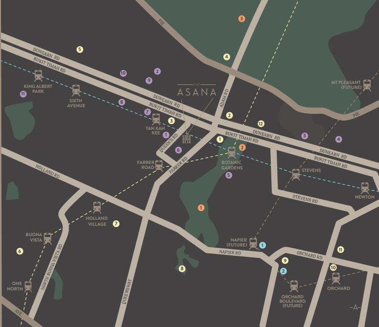 Asana Map