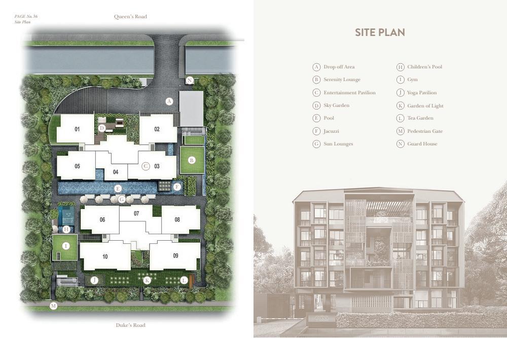 Asana Siteplan