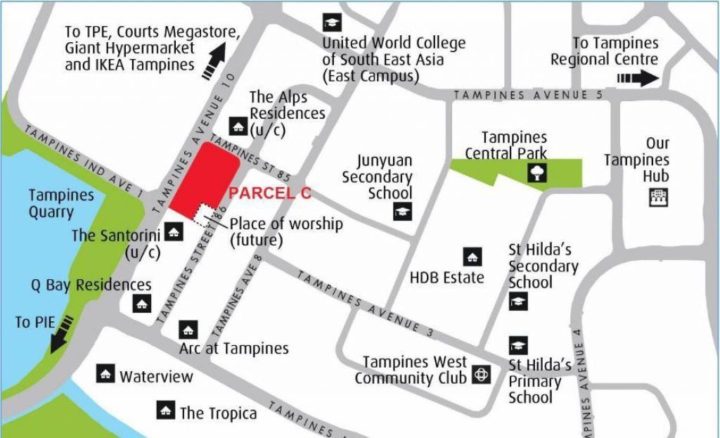 CDL Tampines Plot C Map