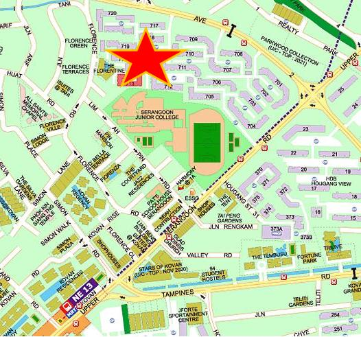 Forence Residences Map