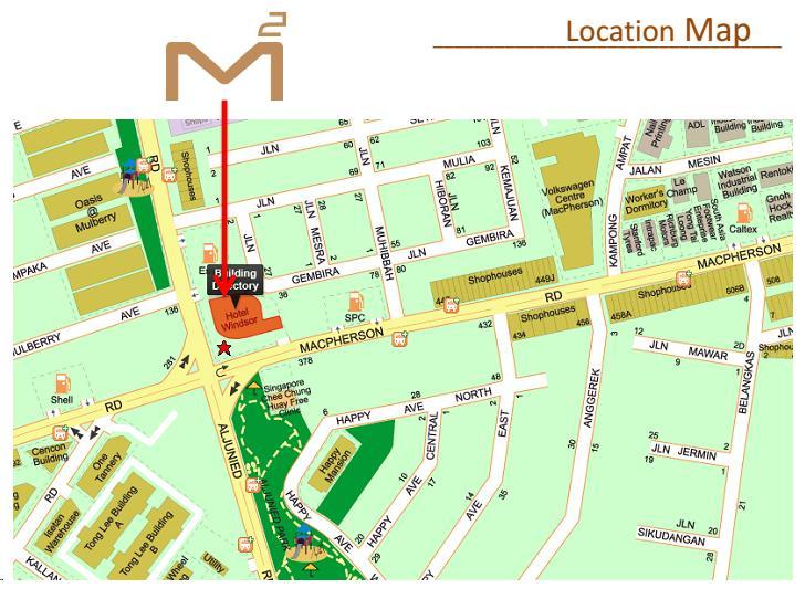 Macpherson Mall Map