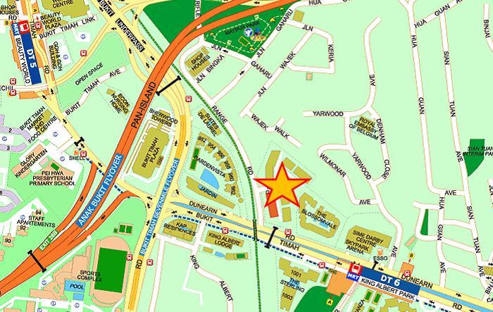Mayfair Gardens Map