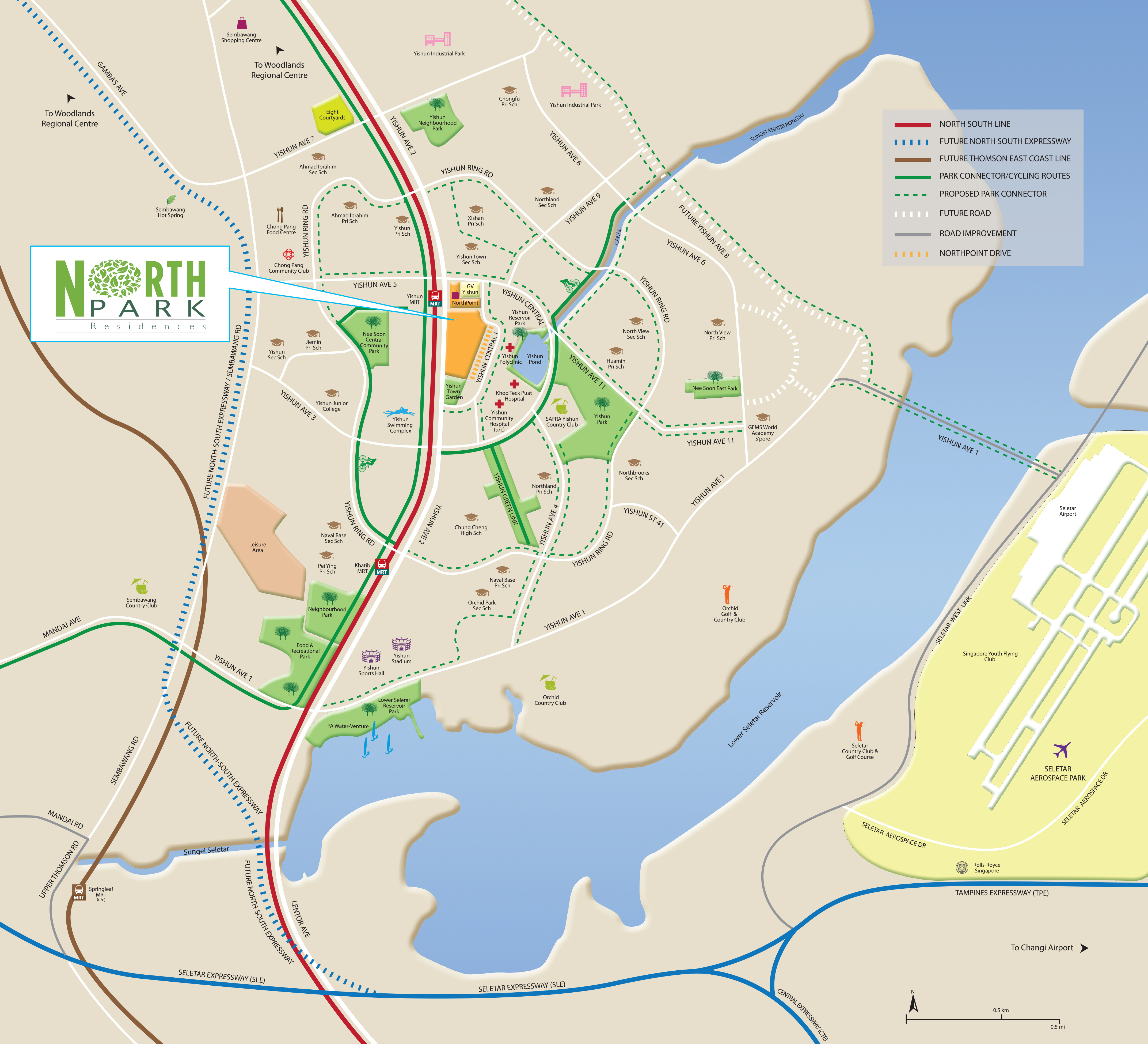 NorthPark Map