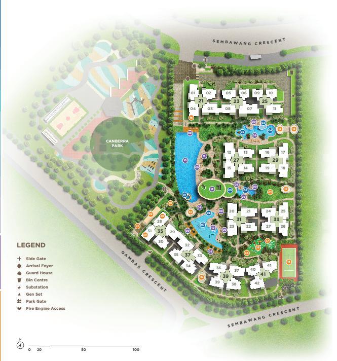 Parc Life Siteplan