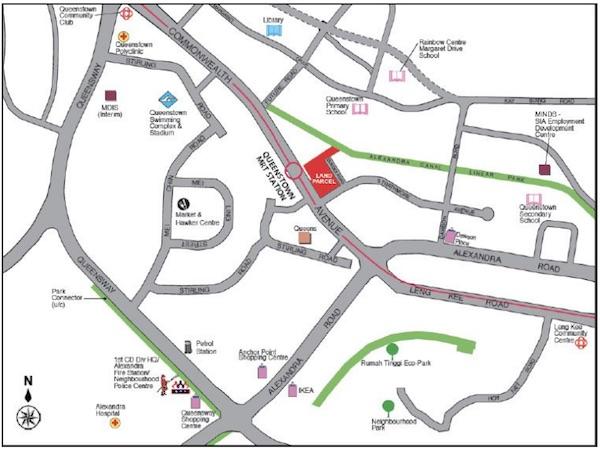 Queens-Peak-Location-Map