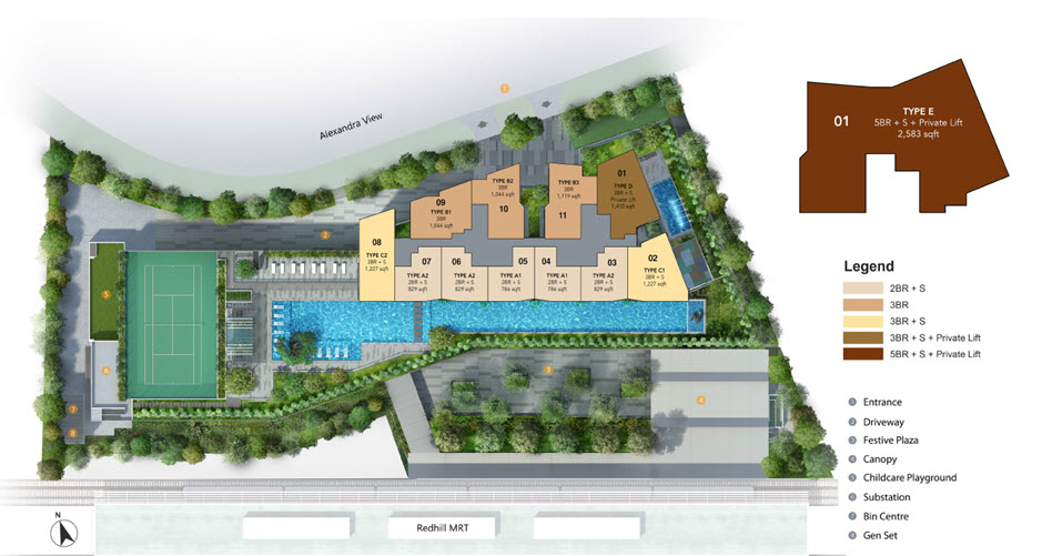 Site-Plan-for-Artra-Condo