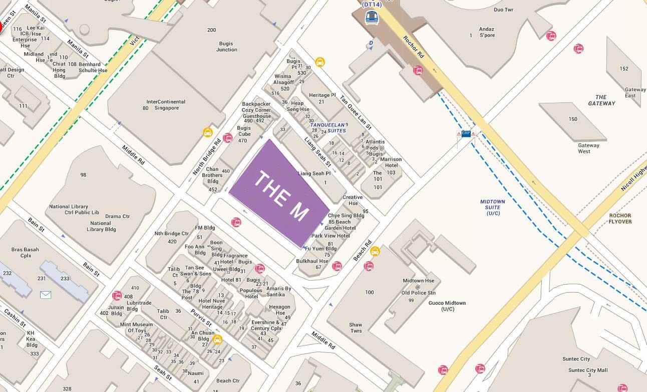 the-M-condo-location-map