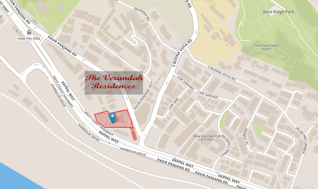 the-verandah-residences-location-map